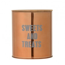 """""""sweets & treats"""" copper container"""