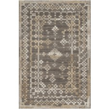 akina collection charcoal & taupe rug