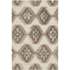 akina collection ivory & camel rug