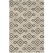 akina collection ivory & grey rug