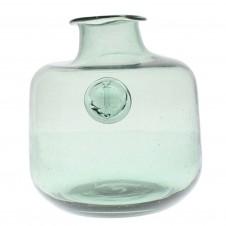 medium anchor stamped glass bottle