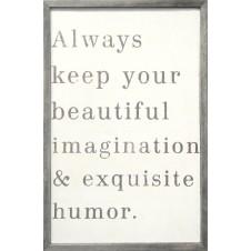 always keep your beautiful art print