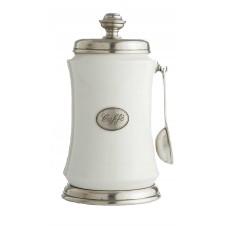 arte italica coffee canister