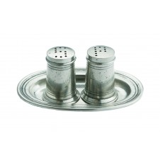 arte italica salt & pepper with tray