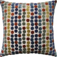 avery dots russet pillow