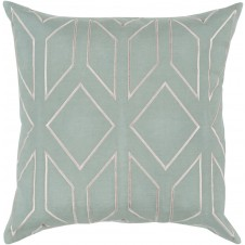 surya skyline sage pillow