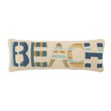 beach collage hook pillow