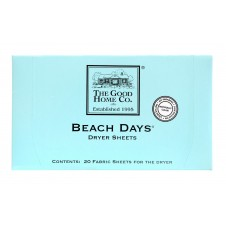 beach days dryer sheets