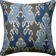 bengal bazaar indigo pillow