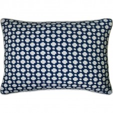 betwixt indigo bolster pillow