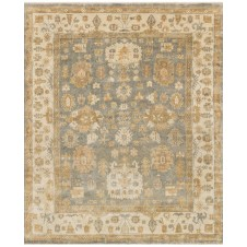 bogart collection blue & ivory rug