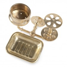 brass bath trio