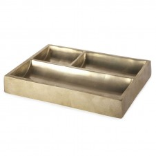 brass modernist catchall