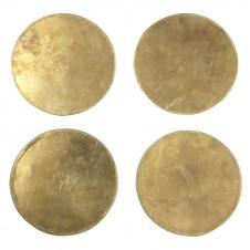 brass coasters set of 4