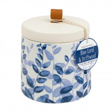 paddywax blue coral & driftwood botany candle
