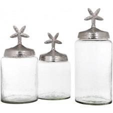 cagliari starfish jar set of 3