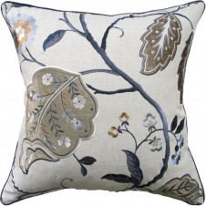 cally indigo pillow