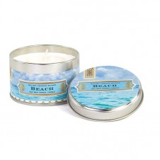 michel design works beach travel candle tin