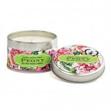 michel design works peony travel candle tin