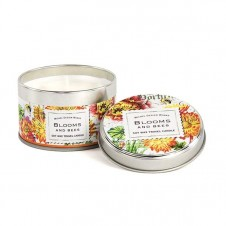 michel design works blooms & bees travel candle tin
