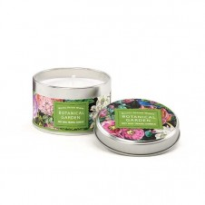 michel design works botanical garden travel candle tin