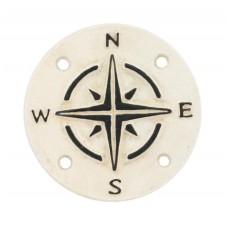 homart cast iron compass sign