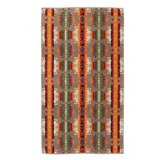 pendleton chief joseph khaki oversized jacquard towel