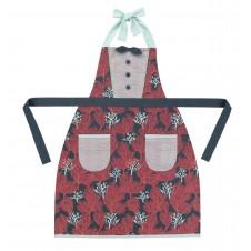 coral apron