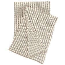 pine cone hill cozy knit pearl grey throw blanket