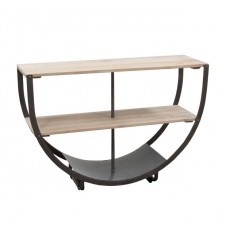 semi-circle console table