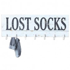 lost socks wall plaque