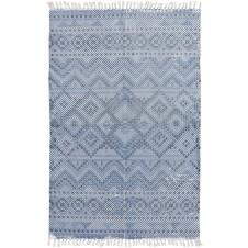 surya chaska area rug, blue