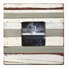 rustic striped boatwood frame
