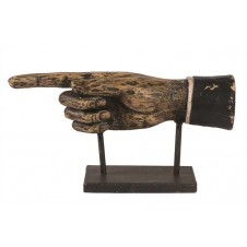 hand figure on stand