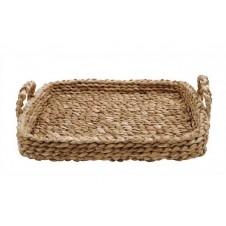 bankuan braided tray w/ handles