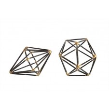 geometric metal shapes