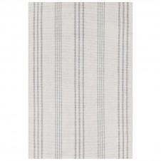 dash & albert aland stripe woven cotton rug