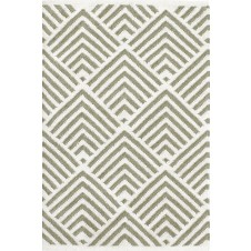 dash & albert cleo moss indoor / outdoor rug