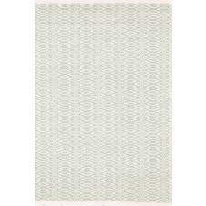 dash & albert ocean / ivory cotton woven rug