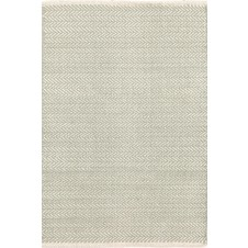 dash & albert herringbone ocean woven cotton rug