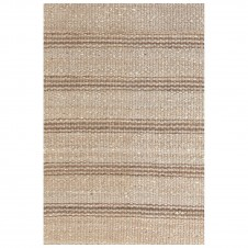 dash & albert jute ticking natural woven rug