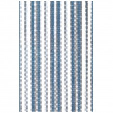 dash & albert lighthouse denim white indoor/outdoor rug