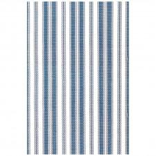 dash & albert lighthouse denim white indoor/outdoor rug