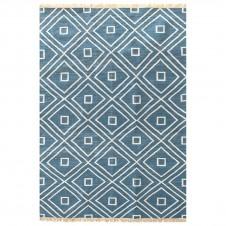 dash & albert mali indigo indoor/outdoor rug