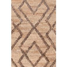 dash & albert marco oak jute soumak woven rug