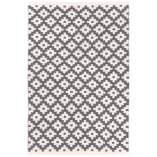 dash & albert samode graphite ivory indoor/outdoor rug