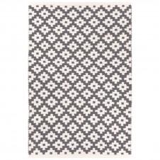 dash & albert samode graphite ivory indoor/outdoor rug