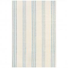 dash & albert swedish stripe woven cotton rug