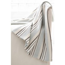 dash & albert vanilla sky woven cotton throw
