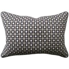 delilah charcoal bolster pillow